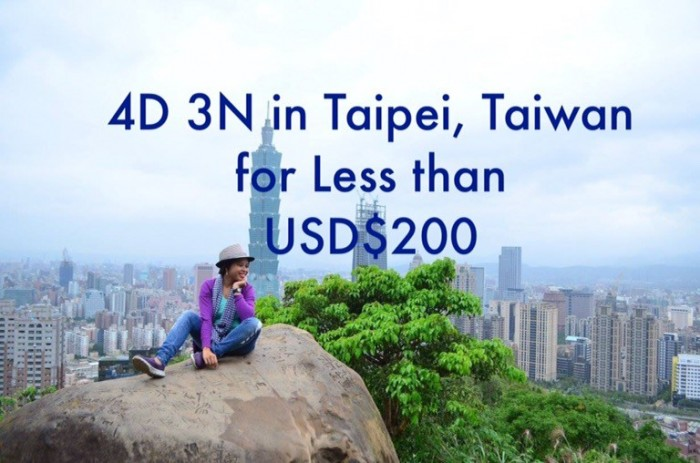 taipei budget solo travel