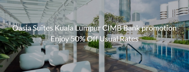 Exclusively at Far East Hospitality for CIMB Bank Credit Cardholders*