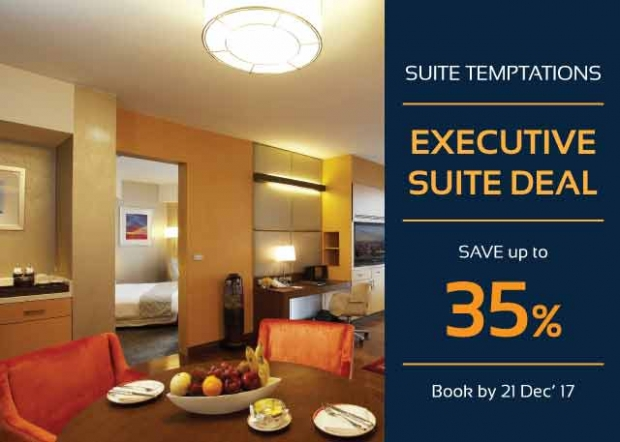 One Bedroom Executive Suite Deal in Centara Grand with Up to 35% Savings