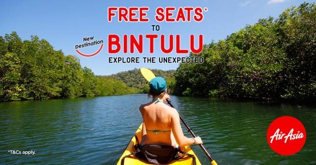 FREE Seats to Bintulu as AirAsia Launch a New Destination