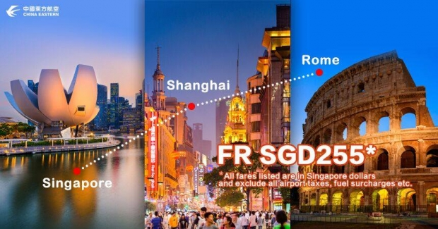 Explore Europe with China Eastern Airlines from SGD225 1