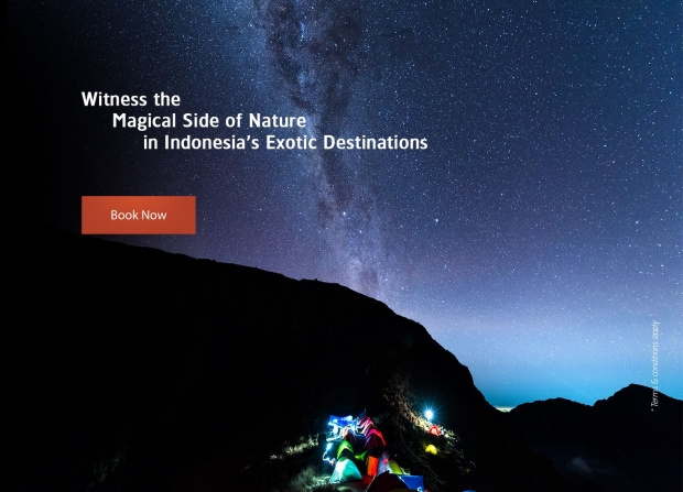 Witness the Magical Side of Nature with Garuda Indonesia