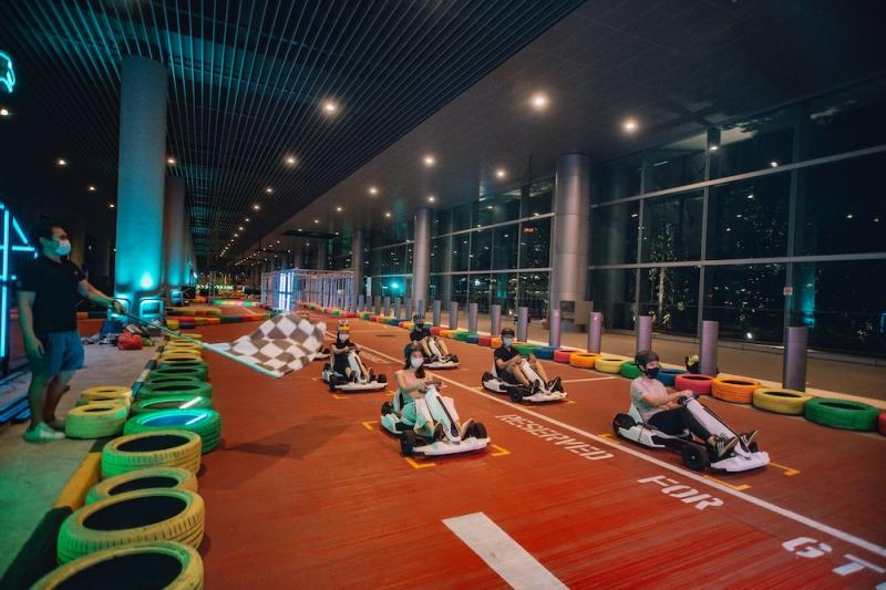 Dinosaur Changi Airport