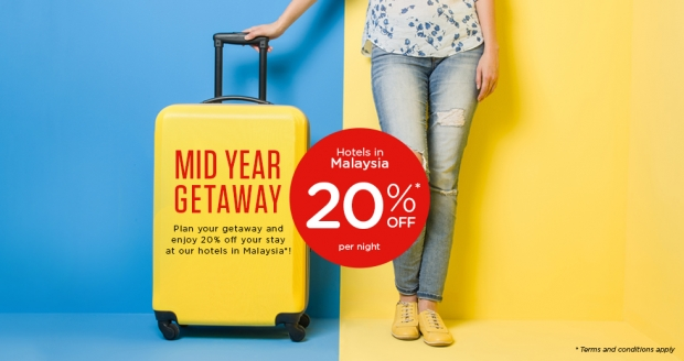 Mid-Year Malaysian Getaway with 20% Savings in Tune Hotels