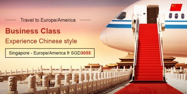 Fly in Style in Europe and America on Business Class Special with Air China