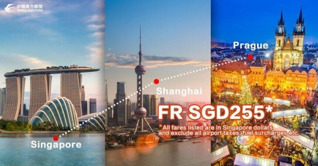 Explore Europe with China Eastern Airlines from SGD225 2