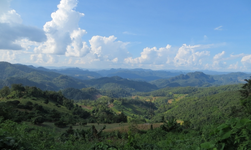 hiking trails in thailand