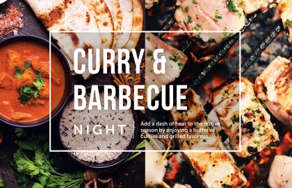 Curry & Barbecue Night