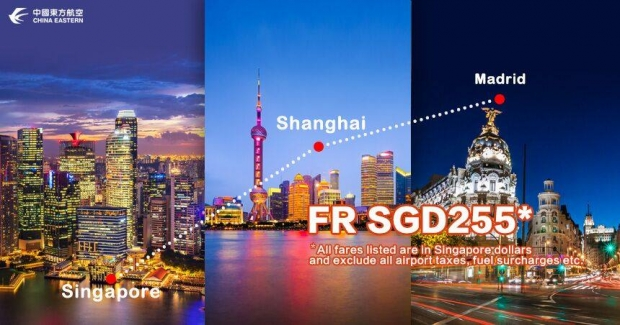 Explore Europe with China Eastern Airlines from SGD225 3