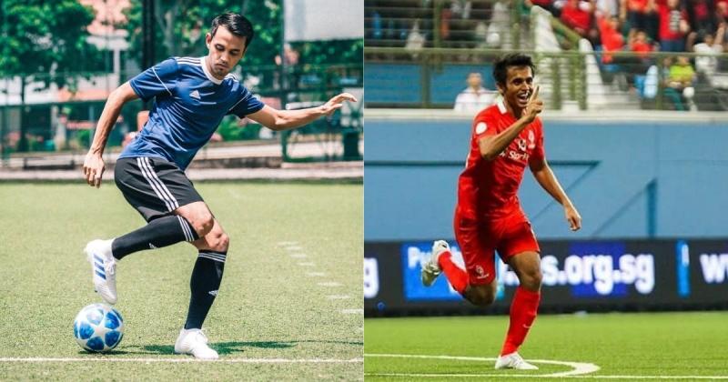 Singapore midfielder Shahdan Sulaiman