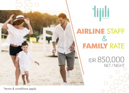 AIRLINE STAFF & FAMILY RATE