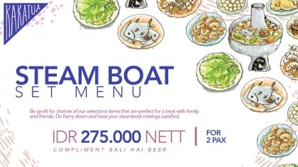 Steam Boat Set Menu