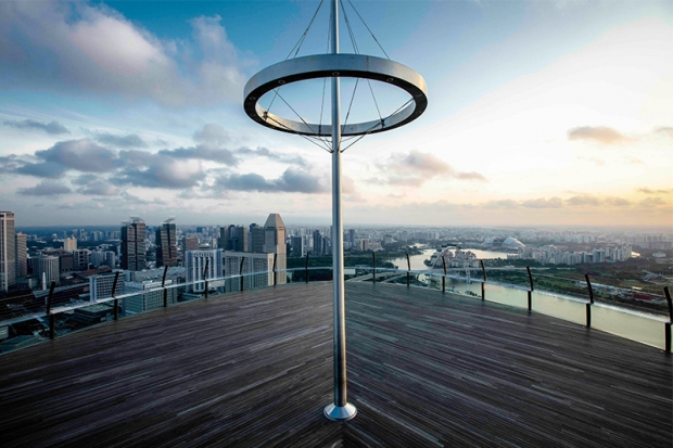 15% off Entry Tickets to Sands SkyPark Observation Deck with Standard Chartered Bank Card