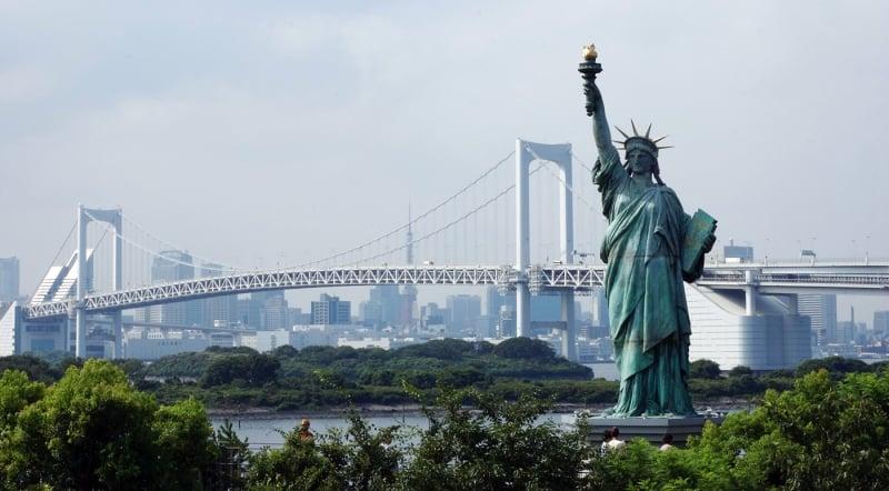 Statue of Liberty, Odaiba