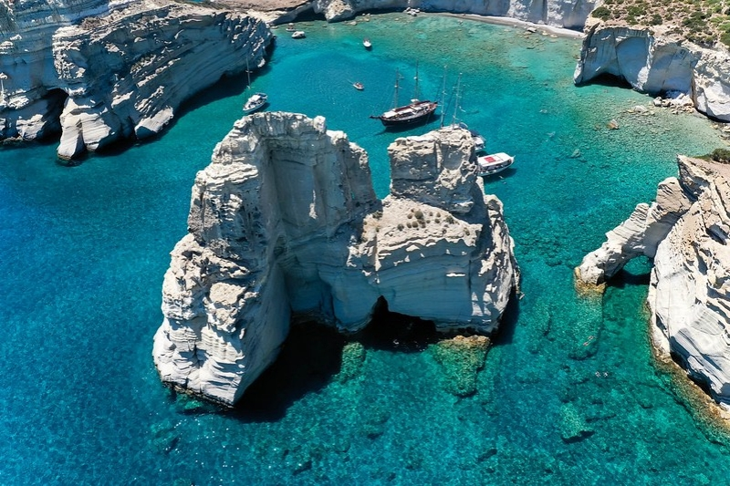 Islands in Greece: Milos