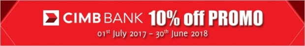 10% off for aquariaKLCC Admission Ticket with CIMB Bank Card