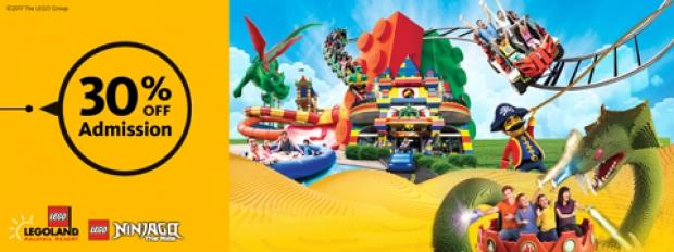 Enjoy 30% Discount at LEGOLAND® MALAYSIA RESORT with Maybank Cards!