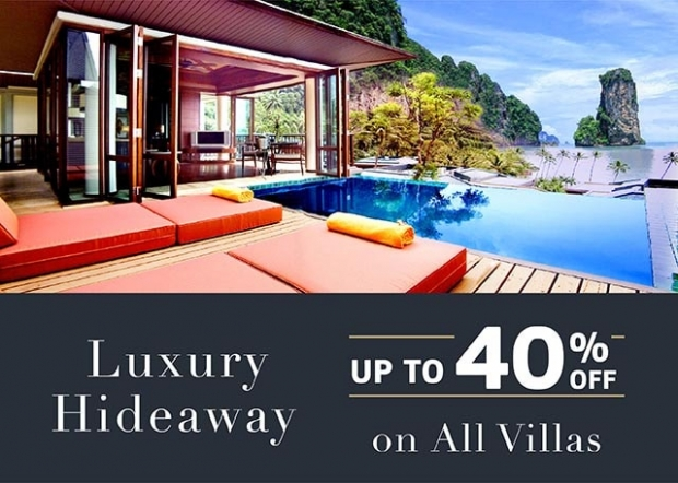 Up to 40% Off a Spectacular Tropical Villa with Centara Grand Beach Resort & Villas Krabi