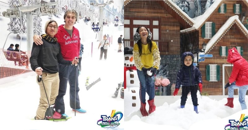 Trans Snow World Juanda Indonesia