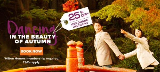 Experience Autumn and Stay at Hilton Hotels & Resorts