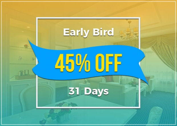 Early Bird Deals at The Royale Chulan Damansara with Up to 45% Savings