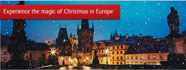 Experience Christmas in Europe with Emirates from SGD1,069