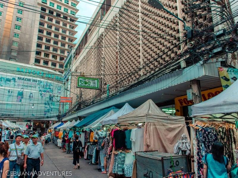 money saving tips shopping thailand