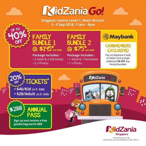 KidZania Go! Up to 40% Ticket Bundles and More Exclusive Deals