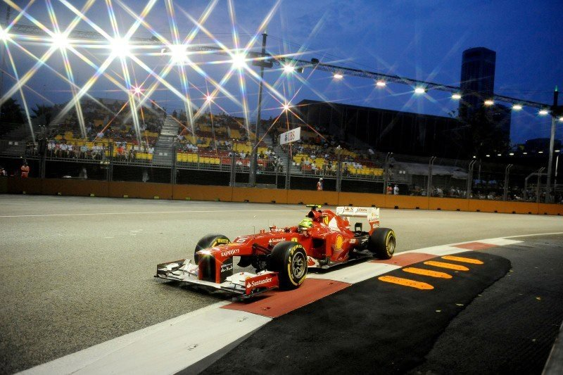 F1 Singapore live