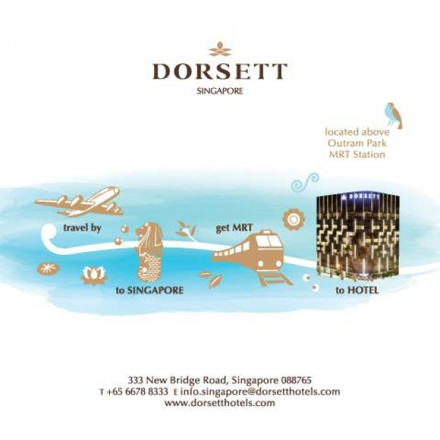 Enjoy a Ride on us! Book your Stay with EZ-link Card from Dorsett Singapore