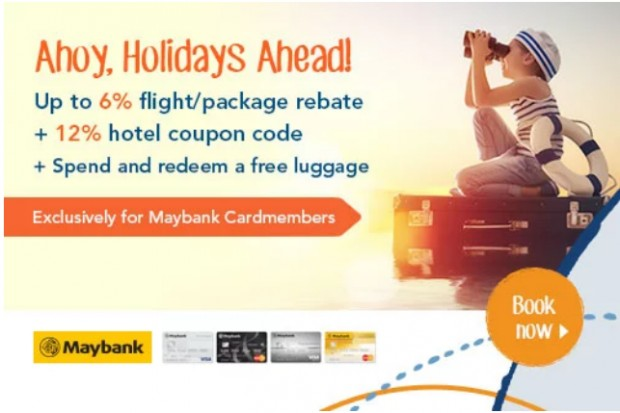 Ahoy, Holidays Ahead | Book your next Getaway with Zuji and Maybank