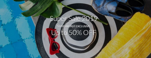 Super Sale 2019: Up to 50% Off Best Available Rate with Far East Hospitality