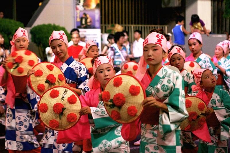 hanagasa circle dance