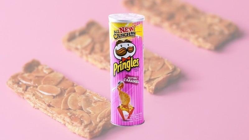 Pringles Butter Caramel