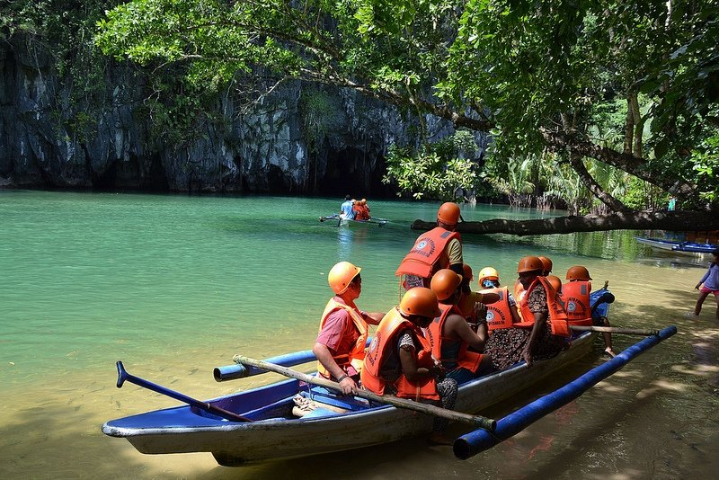 one of the summer destinations in the philippines is Puerto Princesa, Palawan