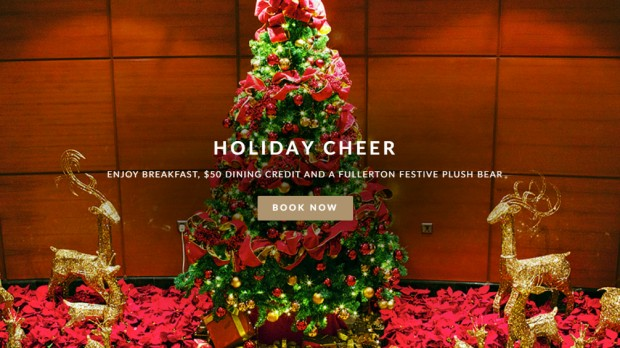 Holiday Cheer with Complimentary Meals at The Fullerton Hotel Singapore