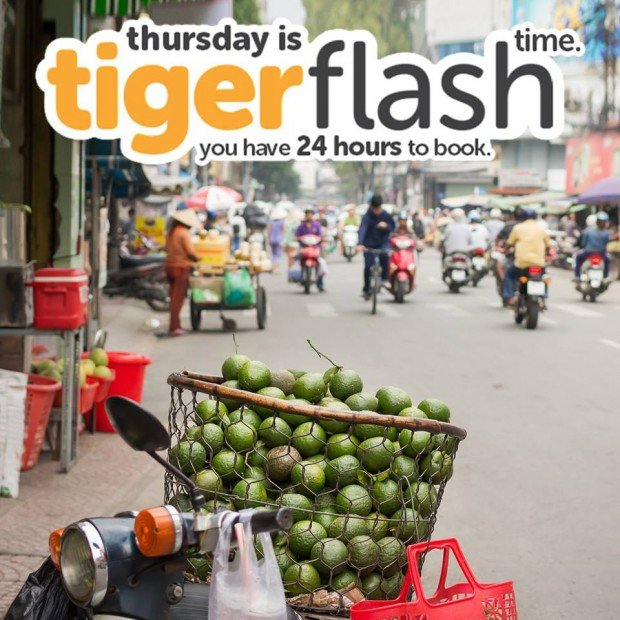 Tigerair Thursday Flash Sale | Fly to Malaysia and more from SGD0