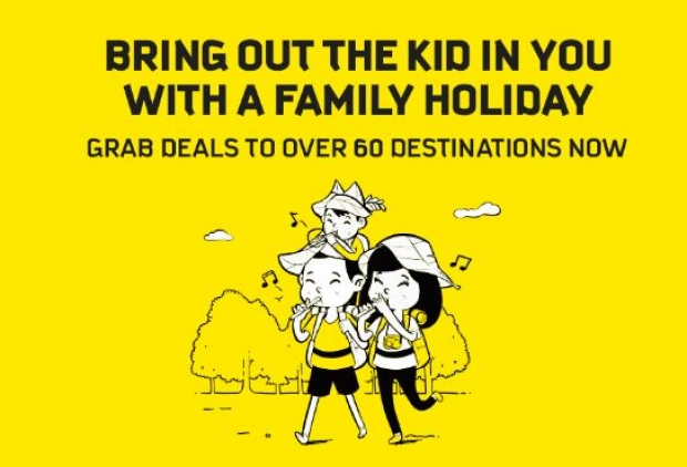 Bring Out the Kid in you for a Family Holiday with Scoot