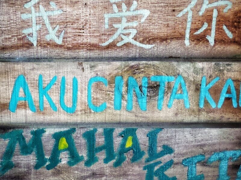 help locals while travelling through language