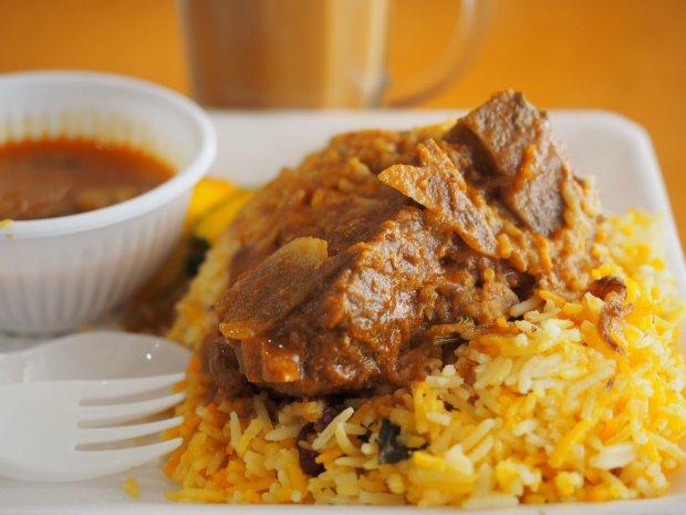 Món ăn ở Singapore: Biryani