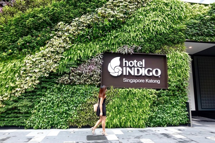 hotel indigo outside