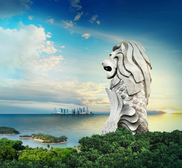 Enjoy 33% Off Admission Ticket to Sentosa Merlion with DBS Card