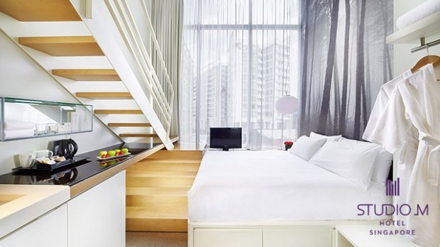 25% OFF the Best Flexible Rate at Studio M Singapore with NTUC Card