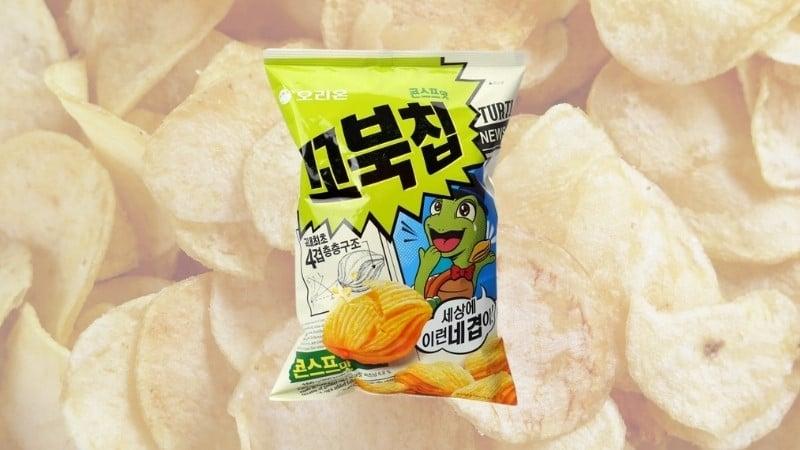 Best Korean Snacks Online: Orion Kkobuk Turtle Corn Chips