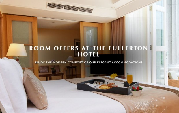 Get 15% Off Best Available Rate when you Book in Advance in Fullerton Hotel Singapore