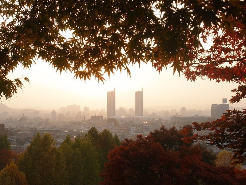 daejeon skyline