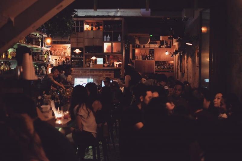 speakeasy bar singapore Bitters & Love