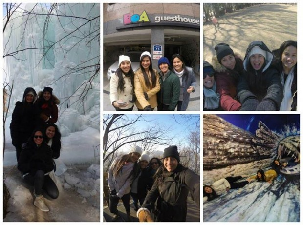korea winter budget travel