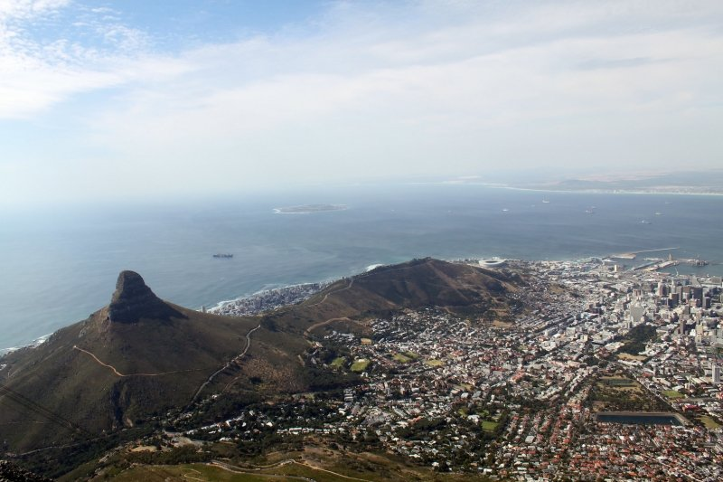 LION'S HEAD AND SIGNAL HILL, CAPE TOWN