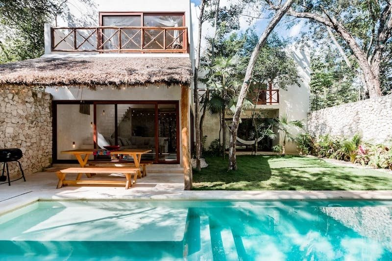 Best Airbnb in Tulum, Mexico With Private Pool